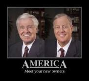 koch brothers own america