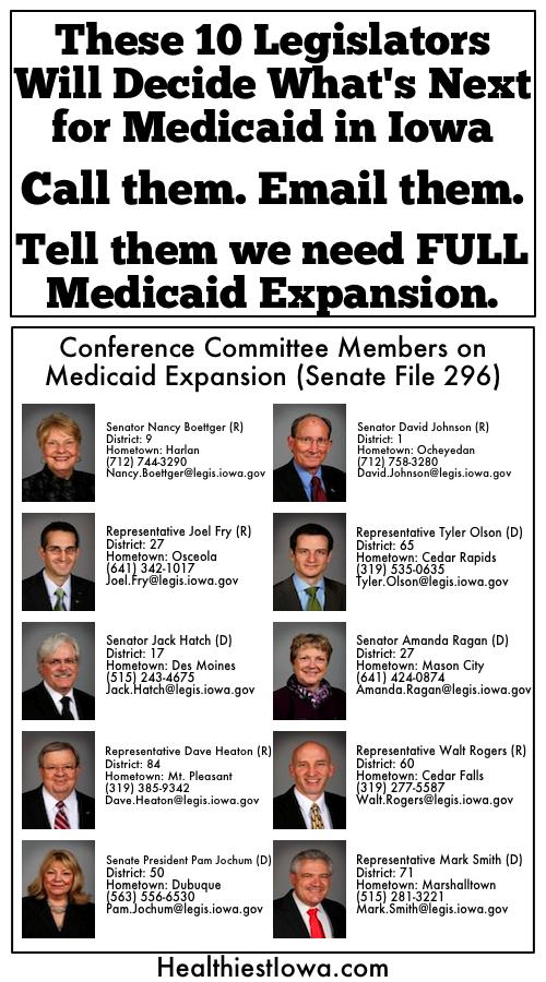 Medicaid legislators2