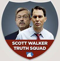 scott walker truth squad