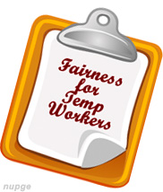 Fairness for Temp Workers