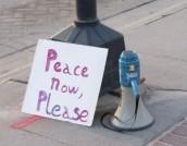 Peace Now, Please