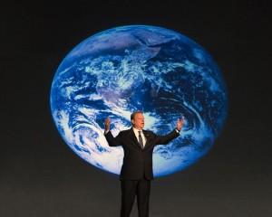 Al Gore Giving His Slide Show