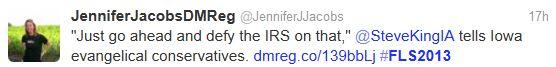 King Defy IRS