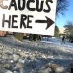 caucus sign