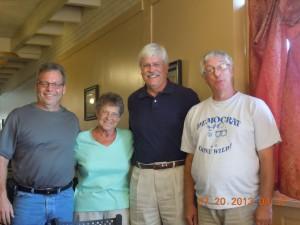 Sen Chris Brase, Betty McMahon, Sen. Jack Hatch, Don Paulson