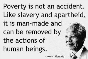 poverty not an accident