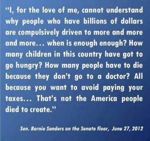bernie sanders speech