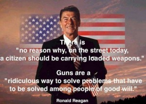 reagan on guns