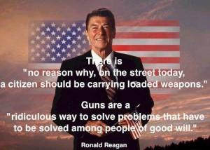 reagan on guns
