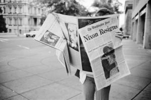 Aug. 9, 1974 Nixon Resigns