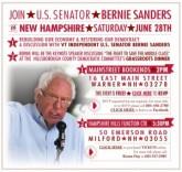 Sanders Book Tour Appearances