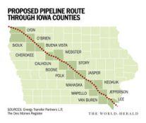 Bakken Pipeline Proposed Route
