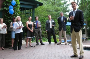 Evan Bayh Stumping for Loebsack in 2006