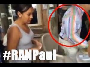 Rand Paul runs from scary Dreamer