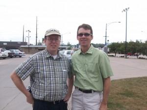 State Senators Rob Hogg and Joe Bolkcom