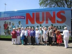 nuns on the bus sept 2014