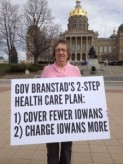 Gano holds Branstad accountable