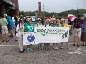 100Grannies at the Great March for Climate Action