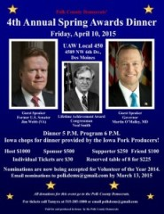 Polk County Awards April 10