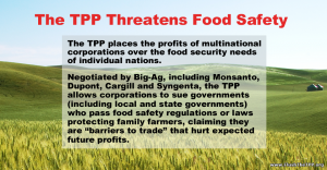tpp threatens food safety