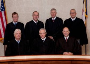 Iowa Supreme Court photo 2013 No seats have been replaced since then