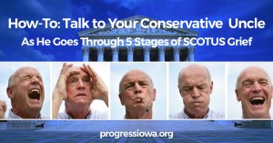 five stages of conservative grief