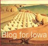 Idyllic farm scene from Iowa