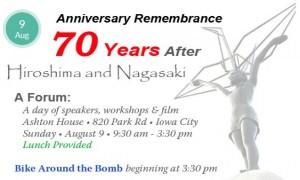 70th Hiroshima Anniversary