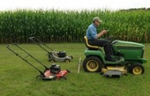 Grassley mowing system