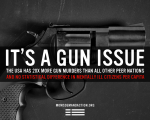it's a gun issue