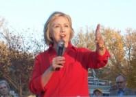 Hillary Clinton inn Coralville, Iowa, Nov. 3, 2015