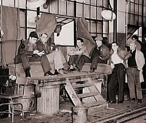 Flint Strike 1937 Photo Credit Wikimedia Commons