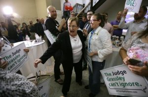The Judge Grassley Can't Ignore (dailykos photo)
