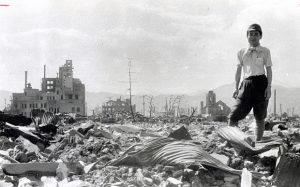 Hiroshima, Japan after U.S. Nuclear Attack. Photo Credit: The Telegraph