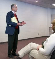 Senator Chuck Grassley in Williamsburg, Iowa in 2010. Photo by the author.