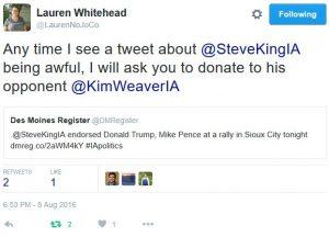 Weaver Tweet
