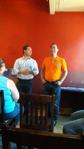 Joaquin and Julian Castro Get Out The Vote in Muscatine
