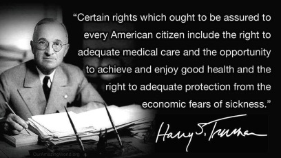 Truman on health care