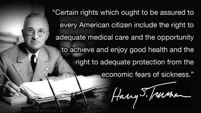 Truman on health care