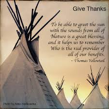 thanksgiving native american