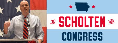 JD Scholten For Congress
