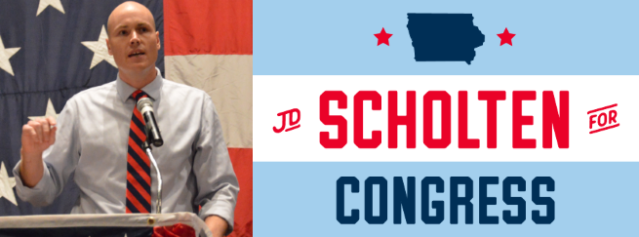 JD Scholten For Congress