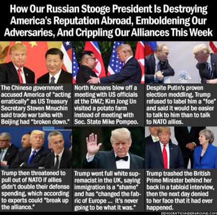 Trump in Europe