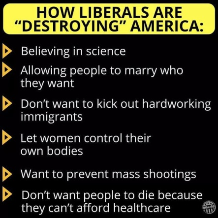 how liberals are destroying America