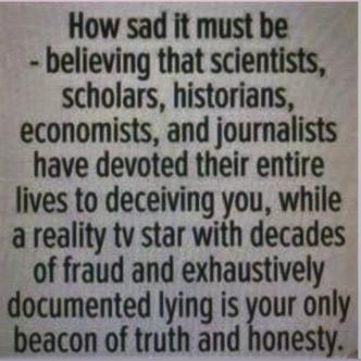 sad to believe