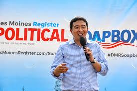 Andrew Yang political soapbox