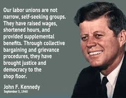 JFK on labor
