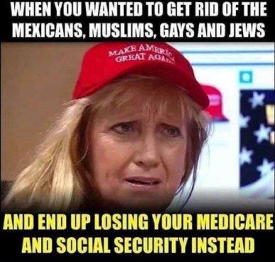 MAGA losing Social Security