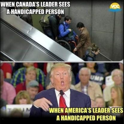 leaders meet handicapped