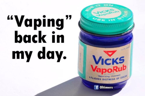 vaping in my day